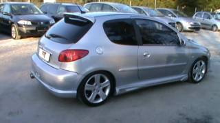 2003 Peugeot 206 tuned body kit Review,Start Up, Engine, and In Depth Tour