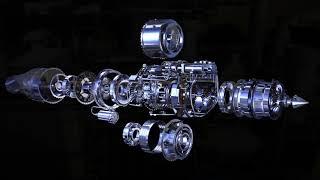 A001 小型渦輪扇引擎