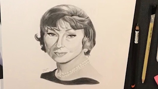 Agnes Moorehead Drawing - Time Lapse