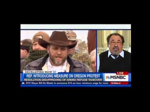 Ranking Member Grijalva on MSNBC on Armed Oregon Militants Jan.  6