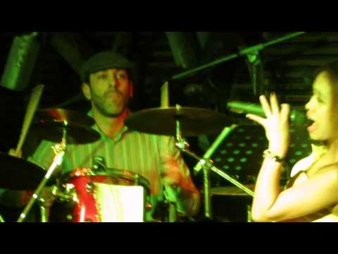 Gary live on drums at the Soho Club in TEDA (Tianjin - Binhai New Area), China.