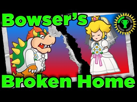 Thumbnail: Game Theory: Bowser's BROKEN HOME in Super Mario