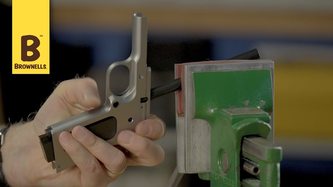 Quick Tip: The Harrison Design 1911 Frame Fixture - YouTube