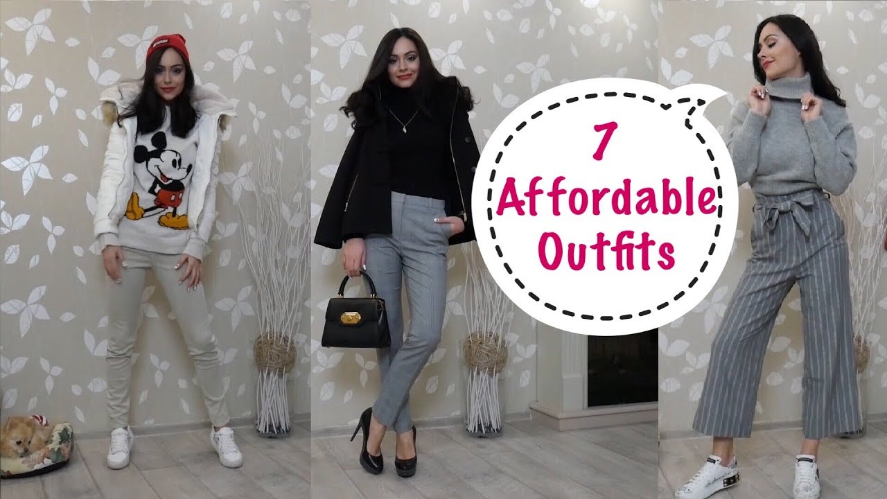 7 Different & Affordable Outfits for Late Winter or Early Spring 2