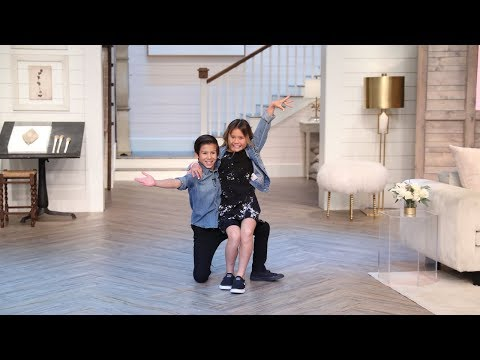 'Dancing with the Stars: Juniors' Winners JT & Sky and Choreographer Mandy Moore  - Pickler & Ben
