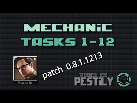 Mechanic Task Guide - Tasks 1-12 - Escape...