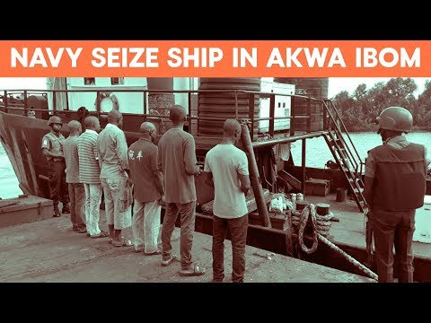Navy Seize Ship, Arrest 6 In For Illegal Bunkering