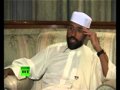 Saif Al-Islam - Most Libyans don't want NATO and their Rebels (Interview July 1, 2011)