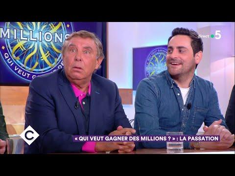Qui veut gagner des millions : la passation ! - C à Vous - 17/01/2019