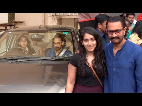 Aamir Khan's Daughter Ira Khan Taking His Dad Aamir On A Ride In Her Car Will Melt Your Heart Mp3
