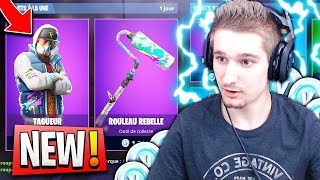 NEW SHOP! THIS NEW SKIN IS TROP TYLÉ ON FORTNITE BATTLE ROYALE 😱