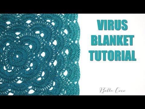 CROCHET: VIRUS BLANKET    Bella Coco Crochet