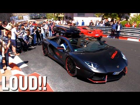 LOUD Levella Lamborghini Aventador causing MADNESS in the street!