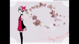 【Karaoke】 Sing My Love 《on vocal》 40mP / Miku