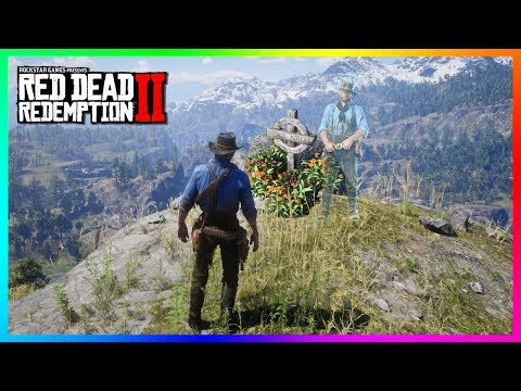 Arthur Morgan Visits His Own Grave & ALL Of The Fallen Gang Members In Red Dead Redemption 2! (RDR2) thumbnail