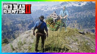 Arthur Morgan Visits His Own Grave & ALL Of The Fallen Gang Members In Red Dead Redemption 2! (RDR2)