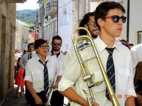 A Banda de Torroselo na festa de Sandomil 2016