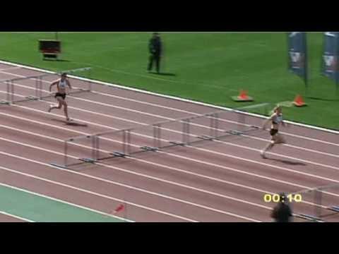 2009 Vic U20 Women 100m Hurdles