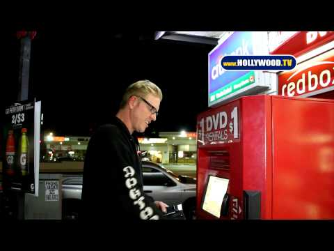 EXCLUSIVE: Jake Busey Rents Movie From $1 Vending Machine