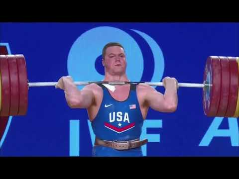 Men's 105 kg A Session Clean & Jerk - 2017 IWF Weightlifting World Championships (WWC)