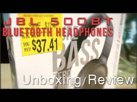 Unboxing/Review - JBL 500BT Bluetooth Headphones
