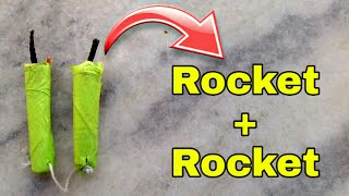how to make dancing rocket,Rocket + Rocket experiment