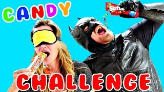 Superhero *** CANDY CHALLENGE *** Batman vs DCTC