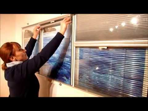 NEW INSULATION GLASS(IG) VENETIAN BLINDS, CELLULAR BLINDS & PLEATED BLINDS