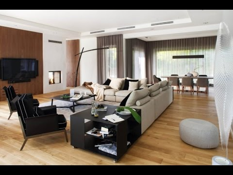 Domesticated Nature – Concept of Modern Interior Design with ...