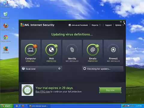Как удалить AVG Internet Security с компьютера