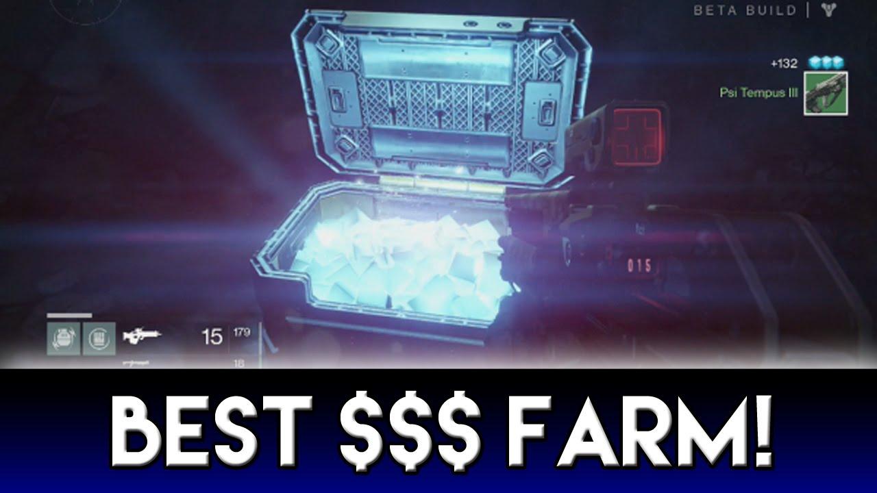 Best glimmer farm quot glimmer farming quot on quot destiny quot youtube