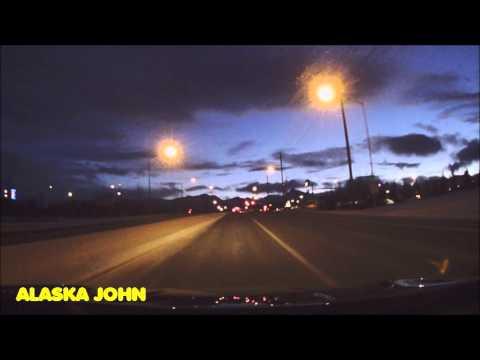ANCHORAGE ALASKA - Drive To Dimond Mall