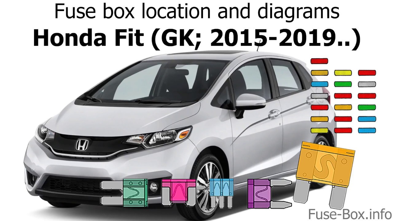 Fuse Box Location And Diagrams  Honda Fit  2015