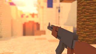 MINECRAFT COM ARMAS! - MOD COUNTER STRIKE