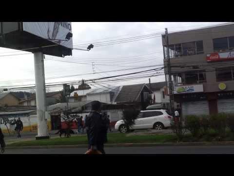 Golpiza a guardia Santa Isabel San Pedro de la Paz