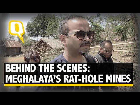 Here's Why It Is So Risky To Report On The Rat-hole Mines Of Meghalaya I The Quint