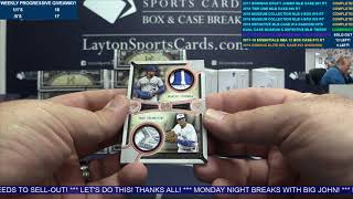 2018 Topps Museum Collection Baseball & 2018 Definitive Dual case
