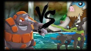 Rhyperior Is The Best Ground Resist? Pokemon Sun and Moon UU Wifi Battle #111 Vs. Emily (1080p)