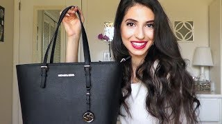 WHAT'S IN MY PURSE?| New Michael Kors Bag