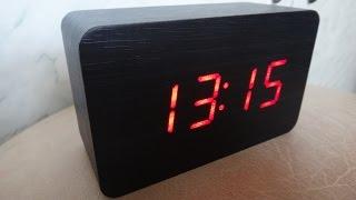 видео электронные настенные часы для дома