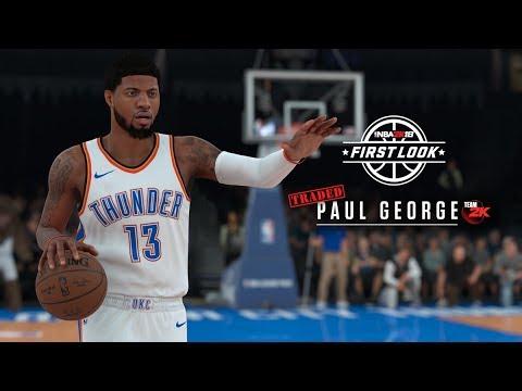 NBA 2K18 1st Official Screenshots! Paul George, DeMar DeRozan, Isaiah Thomas!