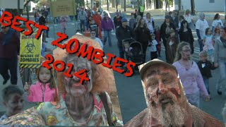 Best of Zombie Walks & Crawls 2014