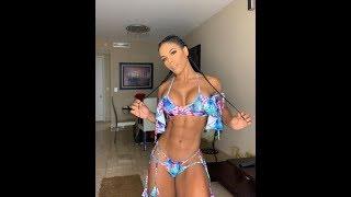 Instagram Super Perfect Fit Model Workout YARISHNA AYALA