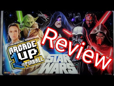 Arcade1up Star Wars Pinball Review from Jester Tester