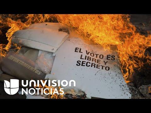 Violencia y tensión electoral en México