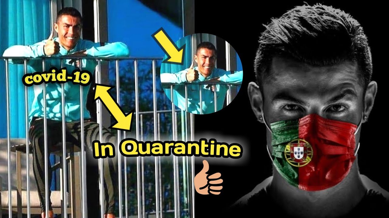 Cristiano Ronaldo tested positive for Covid-19• He could miss juventus vs Barcelona