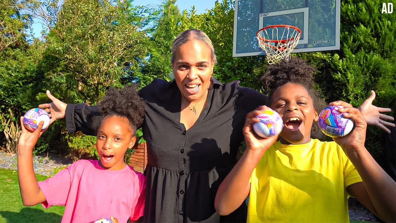 Twin vs Twin Prize Basketball Challenge!