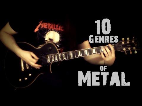 10 Genres of Metal in 2 Minutes
