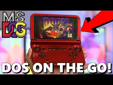 PLAYING MS-DOS GAMES ON THE GO!