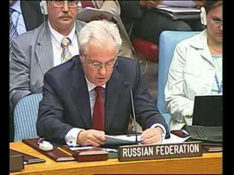 Georgia-Russia testimony at UN Security Council
